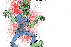 aide soignant zombie
